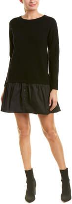Milly Wool Shift Dress