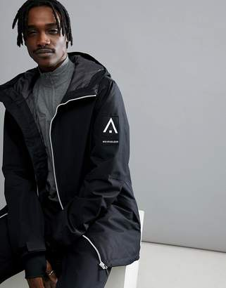 Wear Colour Stride Snow Jacket In Black