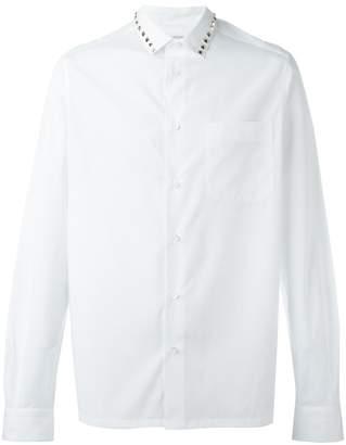 Valentino 'Rockstud' collar shirt