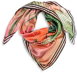 Vince Camuto Desert Palm Oversized Square Scarf