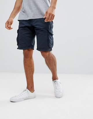 Brave Soul Basic Cargo Shorts