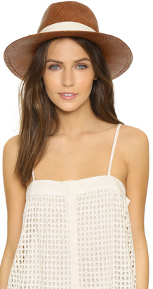 Hat Attack Panama Continental Hat $120 thestylecure.com