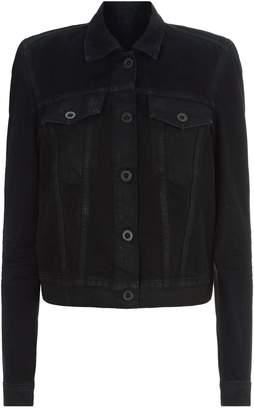 Unravel Structured Shoulders Denim Jacket