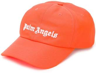 Palm Angels logo embroidered baseball cap