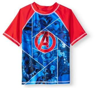 Marvel Avengers Boys' Rashguard