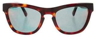 Westward Leaning Westward\\Leaning Reflective Tortoiseshell Sunglasses