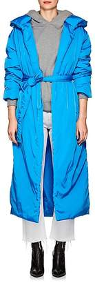 A PLAN APPLICATION Women's Insulated Long Hooded Coat