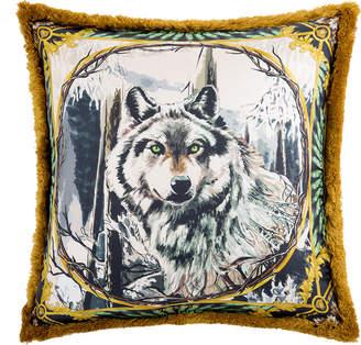 Versace Silk Animal Cushion - 50x50cm - Harry