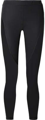 Nike Pro Hypercool Mesh-paneled Stretch Leggings