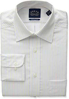 Eagle Men's Dress Shirts Regular Fit Non Iron Stretch Stripe
