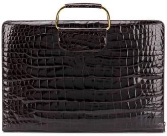 Katheleys Pre-Owned 1970's metal handles briefcase