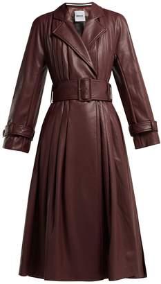 DAY Birger et Mikkelsen KOCHÉ Belted faux-leather trench coat