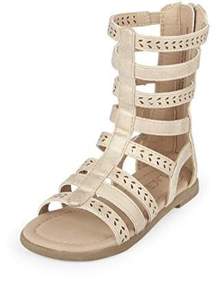 Children's Place The Girls' TG Gladiator San Flat Sandal