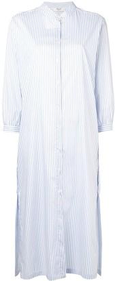 Blugirl striped shirt dress