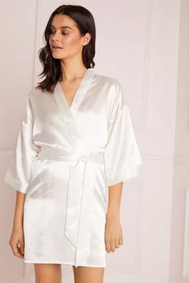 006249acd7 Next Lipsy Satin Bridal Robe - X-Small