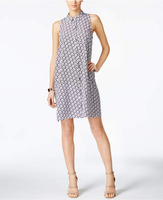 Alfani Printed Shirtdress, Created for Macy's $89.50 thestylecure.com