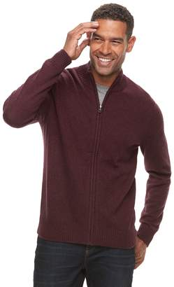 Croft & Barrow Men's Full-Zip Sweater