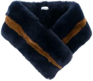 P.A.R.O.S.H. fur collar scarf