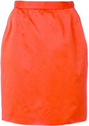 Saint Laurent Pre-Owned straight short skirt