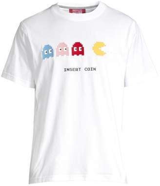 Mostly Heard Rarely Seen 3D Graphic Ghosts Tee