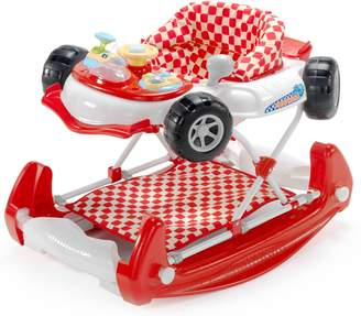 My Child Mychild MyChild Car 2 In 1 Baby Walker Red.