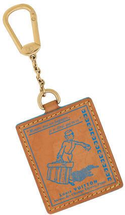 Louis VuittonLouis Vuitton Vachetta Groom Bag Charm