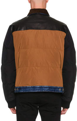 DSQUARED2 Men's Colorblock Bomber Jacket