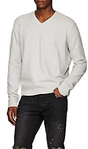 ATM Anthony Thomas Melillo Men's Brushed Wool-Blend Sweater - Gray