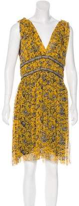 Etoile Isabel Marant Silk Printed Dress w/ Tags