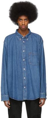 Balenciaga Blue Denim Shirt