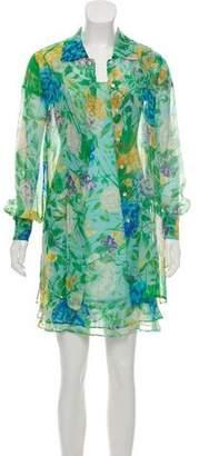 Kenzo Silk Printed Dress Set