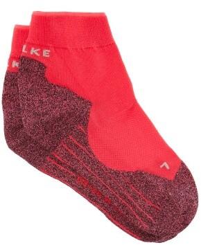 Falke Ru4 Running Ankle Socks - Womens - Red