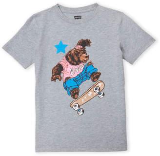 Levi's Girls 7-16) Skateboard Bear Tee