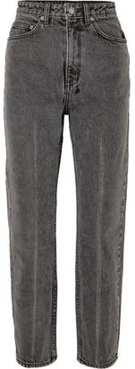 Ksubi Chlo Wasted High-rise Straight-leg Jeans - Gray