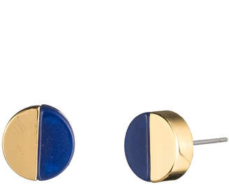 Trina Turk Color Block Disc Stud Earrings