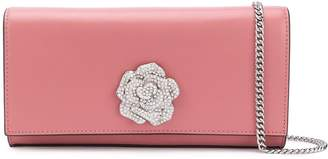 MICHAEL Michael Kors floral embellished clutch bag