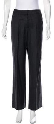 Oscar de la Renta High-Rise Wool Pants