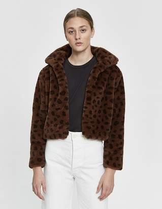 Tiffany & Co. Stelen Faux Leopard Jacket