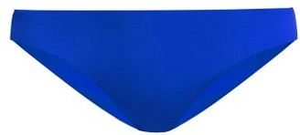 Mara Hoffman Reva High Leg Bikini Bottoms - Womens - Blue