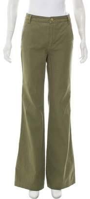 Tory Burch High-Rise Wide-Leg Pants