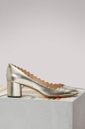 Chloé Lauren Metallized Pumps