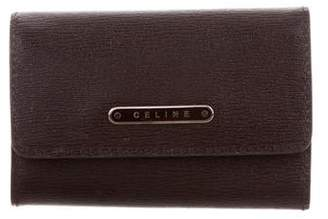 Celine Leather Key Pouch
