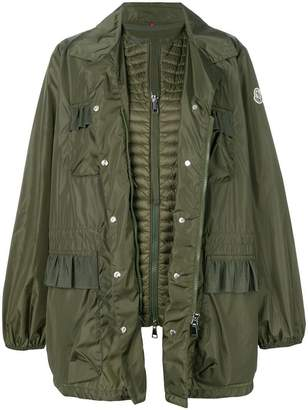 Moncler zipped military jacket