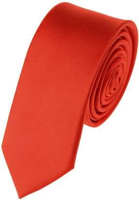 "Romario Manzini NYfashion101 Mens Solid Color 2"" Skinny Tie"