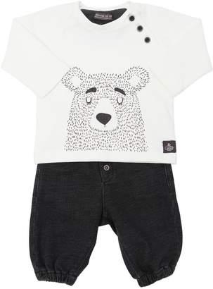 Bear Cotton T-Shirt & Pants