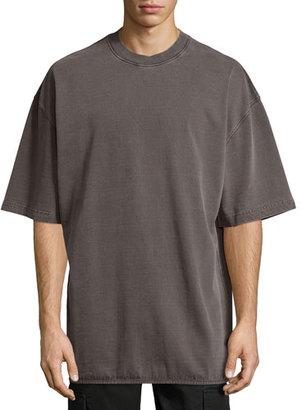 Yeezy Heavy-Knit Crewneck Tee $195 thestylecure.com