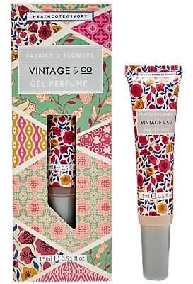 Heathcote & Ivory Vintage & Co. Fabric & Flowers Gel Perfume, 15ml