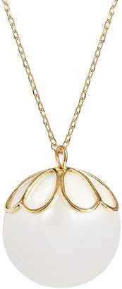 Kate Spade Faux Pearl Pendant Necklace