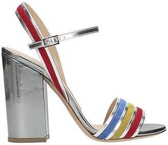 Lerre Silver Nappa Sandals