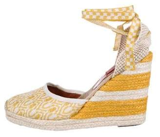 Missoni Woven Espadrille Wedges